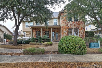 Cibolo Single Family Home Back on Market: 115 Brookhill