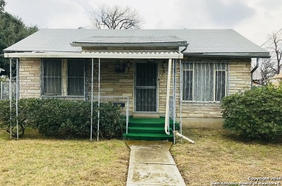 Bexar County Single Family Home For Sale: 3214 W Travis St