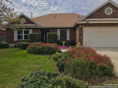 San Antonio Single Family Home New: 18303 Redriver Song