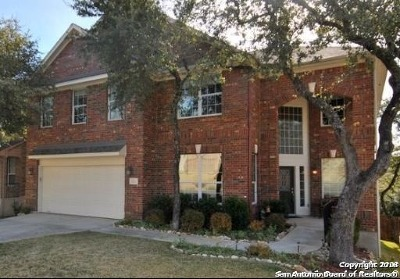 San Antonio Single Family Home Back on Market: 23311 Fairway Brg
