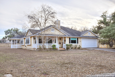 Bandera Single Family Home For Sale: 434 Oak Hills Dr