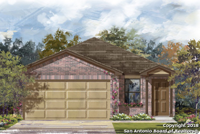 San Antonio Single Family Home New: 8439 Fortuna Valley