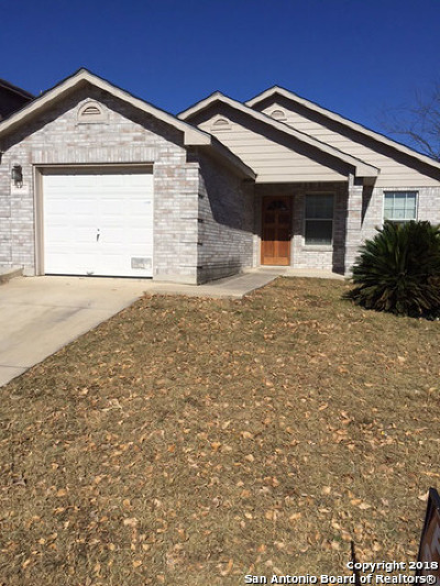 San Antonio TX Single Family Home New: $153,000