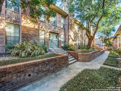 San Antonio Condo/Townhouse Back on Market: 201 Ellwood St #206B