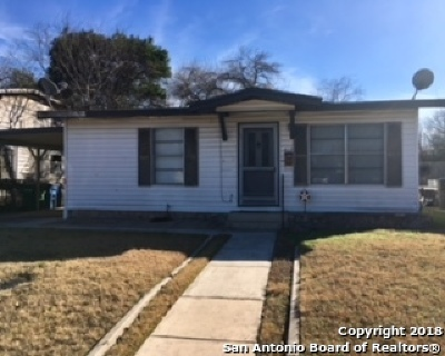 Single Family Home For Sale: 412 Burcham Ave