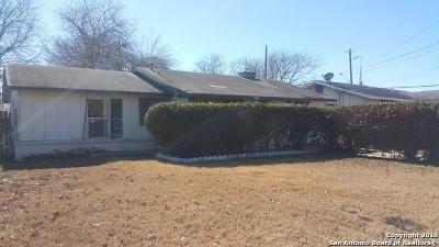 Single Family Home For Sale: 5030 Fridell St