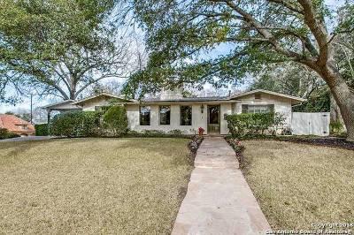 Terrell Hills Single Family Home For Sale: 201 Ridgemont Ave