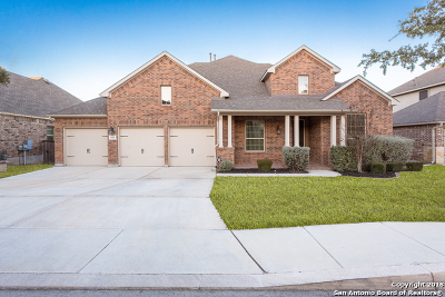 Alamo Ranch Single Family Home For Sale: 3418 Coryell Cove
