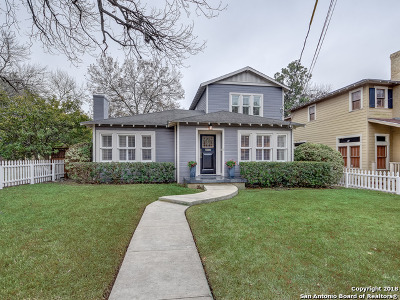 San Antonio Single Family Home For Sale: 202 Evans Ave