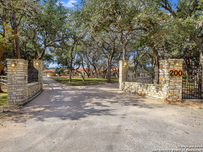 San Antonio Single Family Home Back on Market: 200 Village Circle