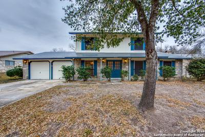 Bexar County Single Family Home Back on Market: 8330 New World