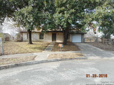 Bexar County, Comal County, Guadalupe County Single Family Home For Sale: 4402 Hampstead St