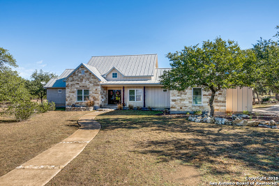 Boerne Single Family Home For Sale: 577 Guadalupe Bnd