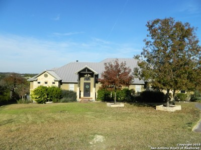 Canyon Lake Single Family Home Price Change: 1889 Rush Creek