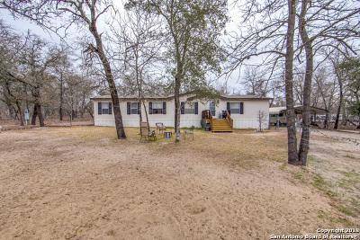Bexar County Manufactured Home Price Change: 1331 Red Gate Dr