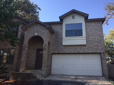 San Antonio Single Family Home For Sale: 6886 Crested Quail