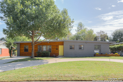 San Antonio Single Family Home For Sale: 134 Verdant St