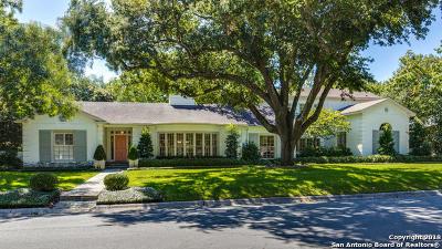 Terrell Hills Single Family Home Price Change: 520 Ridgemont Ave