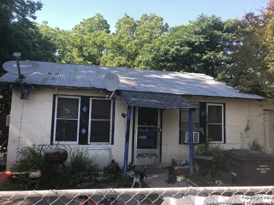 Bexar County Single Family Home For Sale: 1121 Vickers Ave