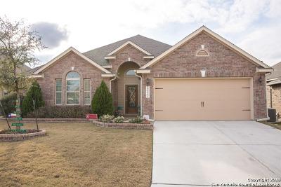 San Antonio Single Family Home Price Change: 22123 Gypsy Hawk