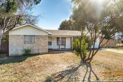 San Antonio Single Family Home Price Change: 8030 Campfire Ln