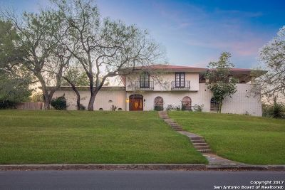 San Antonio Single Family Home Price Change: 4303 Golf View Dr