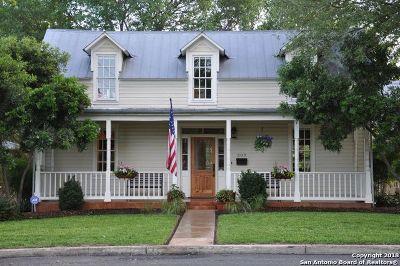 Fredericksburg Single Family Home For Sale: 309 E Travis St