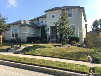 San Antonio Single Family Home For Sale: 506 Canyon Rise