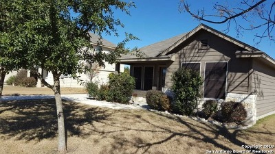 New Braunfels Single Family Home For Sale: 1026 Birdsong Ln
