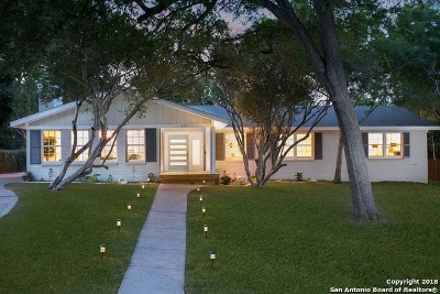Terrell Hills Single Family Home For Sale: 927 Eventide Dr