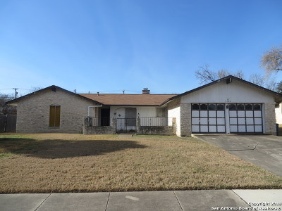 San Antonio Single Family Home Back on Market: 5106 Sierra Madre Dr