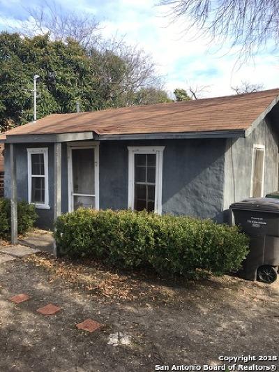 Single Family Home For Sale: 224 Brenner St