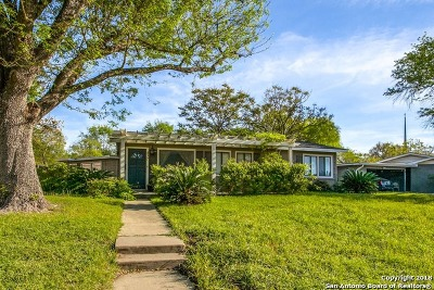 Terrell Hills Single Family Home For Sale: 837 Canterbury Hill St
