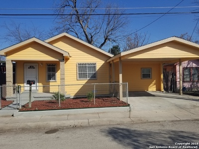 San Antonio Single Family Home Back on Market: 1617 Montezuma St