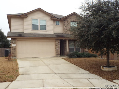 San Antonio Single Family Home Price Change: 5603 Southern Knoll