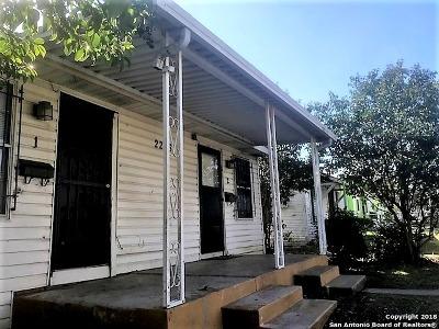 San Antonio Multi Family Home Back on Market: 2228 W Poplar St