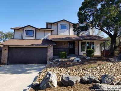Helotes Single Family Home Price Change: 17030 High Cedar