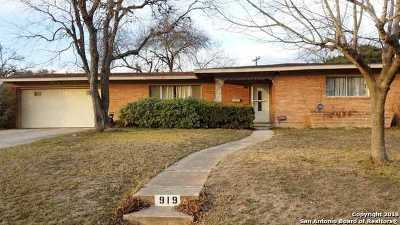 Single Family Home For Sale: 919 McNeel Rd