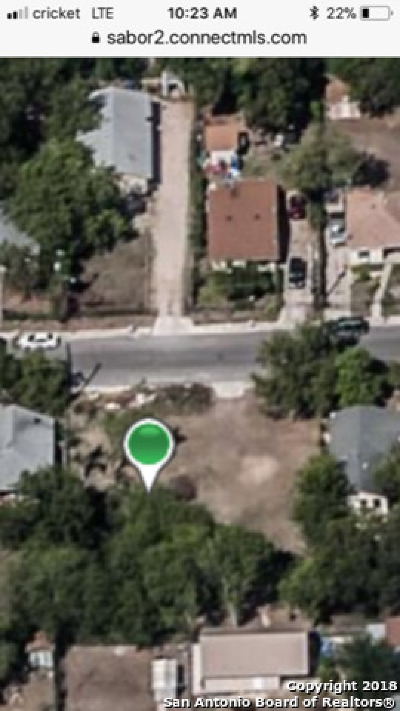 San Antonio Residential Lots & Land Back on Market: 3018 Navajo St