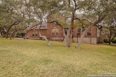 San Antonio Single Family Home Price Change: 26619 Virgo Ln