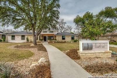 Terrell Hills Single Family Home For Sale: 827 Elizabeth Rd