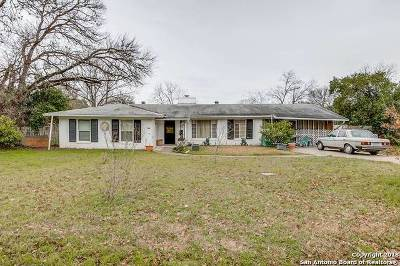 San Antonio TX Single Family Home Back on Market: $285,000
