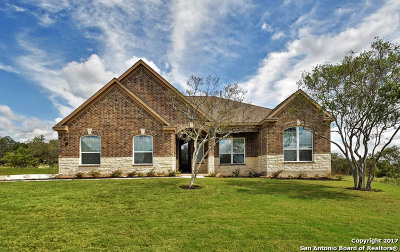 Castroville Single Family Home Back on Market: 123 Cattle Drive