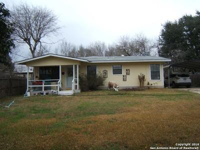 San Antonio Single Family Home Price Change: 9501 Sunny Hill