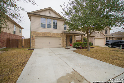 Schertz Single Family Home New: 2801 Crusader Bend