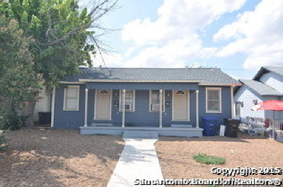 San Antonio Multi Family Home Back on Market: 1806 Texas Ave