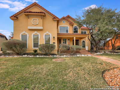 San Antonio Single Family Home New: 25114 Fairway Springs