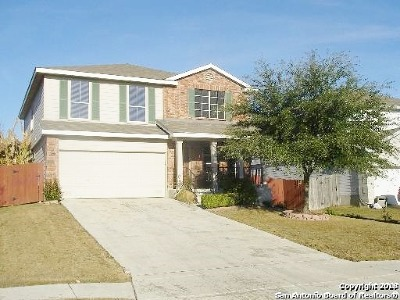 Universal City Single Family Home New: 9043 Sahara Wds