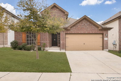 Cibolo Single Family Home New: 144 Grand Vista