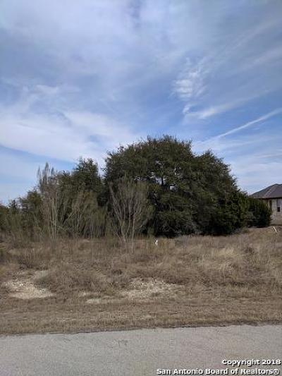 New Braunfels Residential Lots & Land New: 1227 Acquedotto